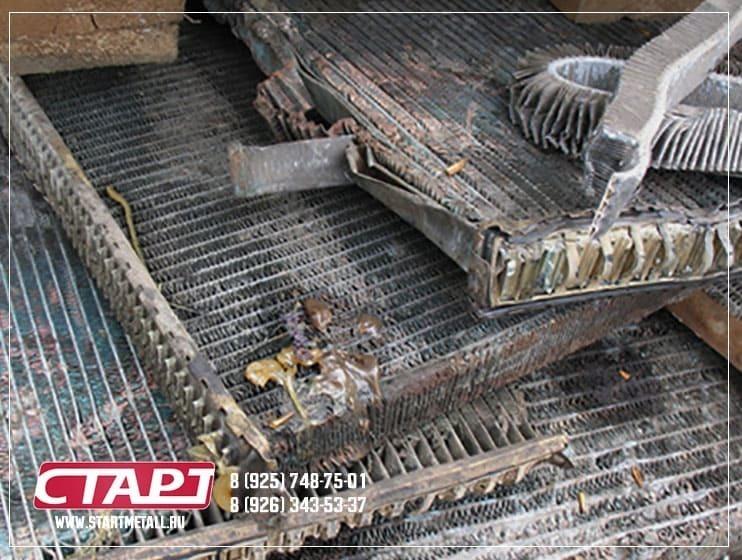 Прием алюминиевых радиаторов по выгодным ценам - Старт