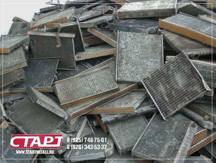 Сдать алюминиевые радиаторы в Москве и области - Старт